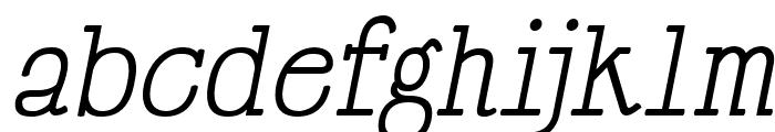 HappyPhantom Italic Font LOWERCASE