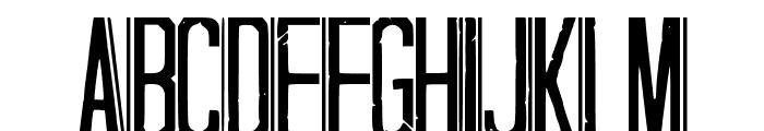 Hapuyalikethatbiko Font UPPERCASE