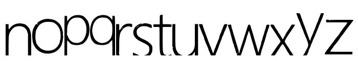 Hapuyalikethatbiko Font LOWERCASE