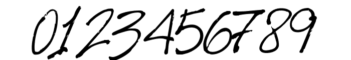 HarabaraHand Italic Font OTHER CHARS
