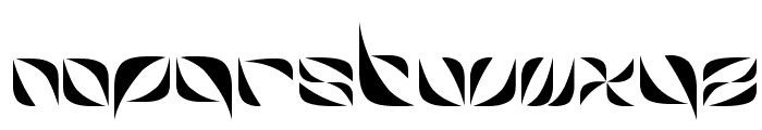 Harb Font LOWERCASE
