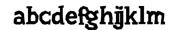 Hard Compound Font LOWERCASE