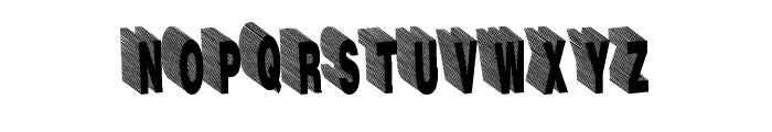 HardLine Font UPPERCASE