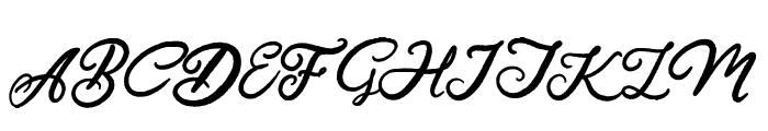Hardest Style Demo Font UPPERCASE