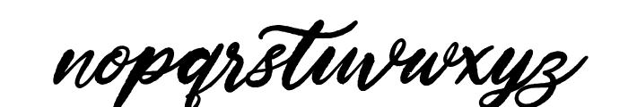 Hardest Style Demo Font LOWERCASE