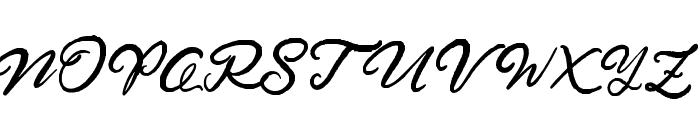 HardestStyleDemo Font UPPERCASE
