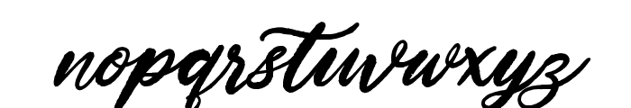 HardestStyleDemo Font LOWERCASE