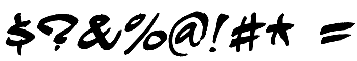Hardkaze Font OTHER CHARS