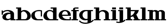 HardlyWorthit Font LOWERCASE