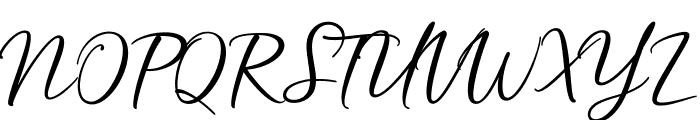 HardwiredScriptFree Font UPPERCASE
