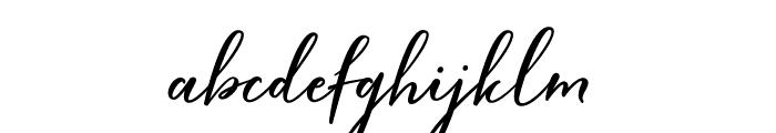 HardwiredScriptFree Font LOWERCASE