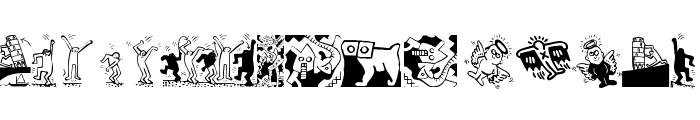 Haringe Font LOWERCASE