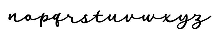 HarithDEMO Font LOWERCASE