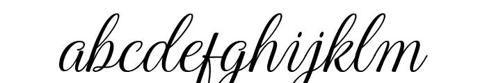 HarlandSlantDemo Font LOWERCASE