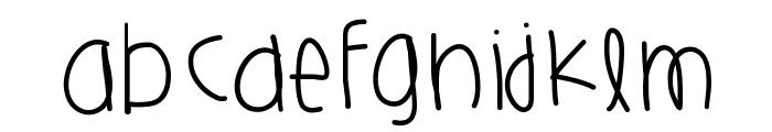 HarlemsPlayground Font LOWERCASE