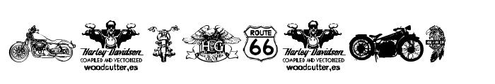 Harley Davidson Font OTHER CHARS