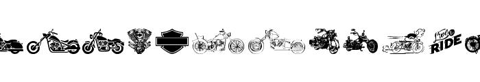 Harley Davidson Font LOWERCASE
