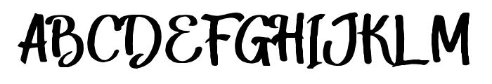 Harley Script Regular Font UPPERCASE