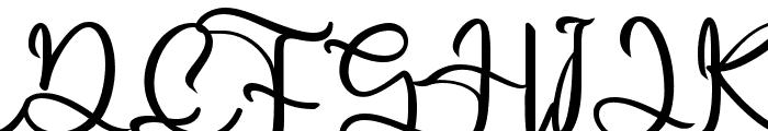 Harold Flower Font UPPERCASE