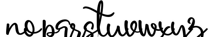 Harold Flower Font LOWERCASE