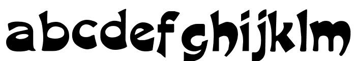 Harquil Font LOWERCASE