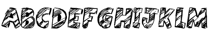 Harristoon Font UPPERCASE