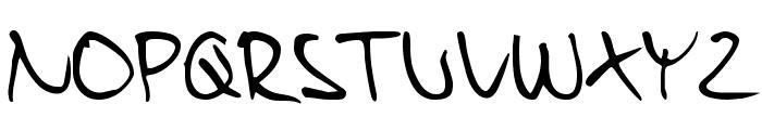 Harry Medium Font UPPERCASE