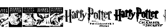 Harry Potter and the Dingbats Font OTHER CHARS