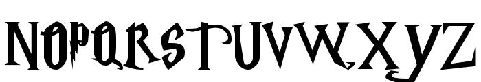 Harry Potter Font UPPERCASE