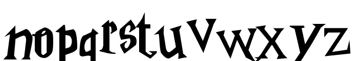 Harry Potter Font LOWERCASE