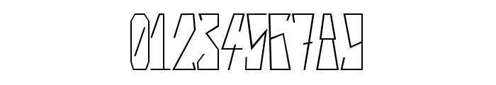 Harsh Regular Font OTHER CHARS