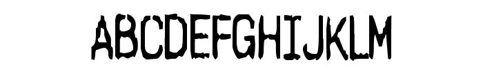 Harsh language AC Font UPPERCASE