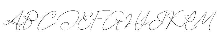 Hartford Font UPPERCASE