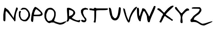 Harvey Font UPPERCASE