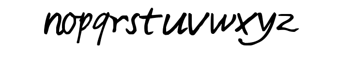 Harvey Font LOWERCASE