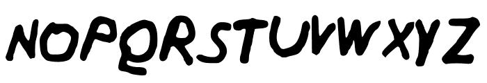 Harveyfont Font UPPERCASE