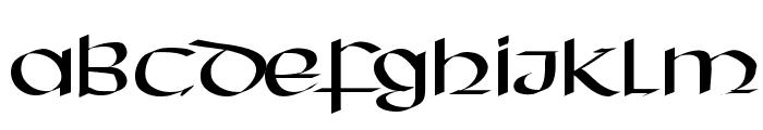 HassianUncial Font UPPERCASE