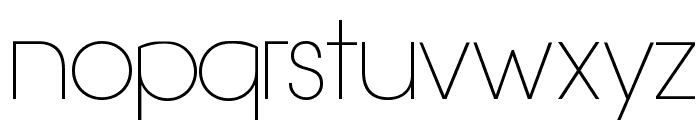 Hasteristico Light Font LOWERCASE