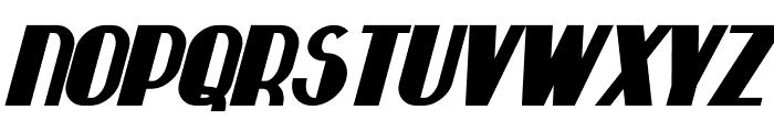 Hastings Bold Italic Font UPPERCASE