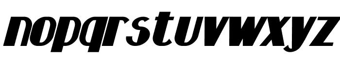 Hastings Bold Italic Font LOWERCASE