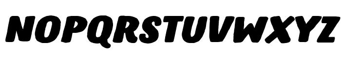 Hastro Italic Font LOWERCASE