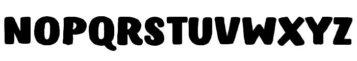Hastro Font UPPERCASE