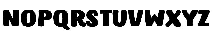 Hastro Font LOWERCASE