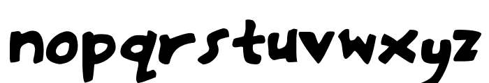 Hasty-Pudding Font LOWERCASE