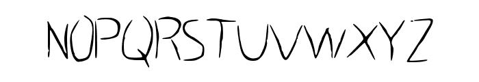 HastyGrass_VL Font UPPERCASE
