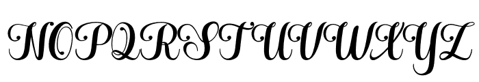 Hatachi Font UPPERCASE