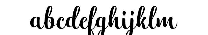 Hatachi Font LOWERCASE