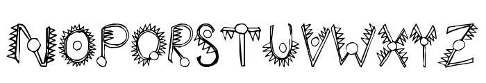 Hathor Font UPPERCASE