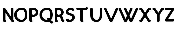 Hattha Bold Font UPPERCASE
