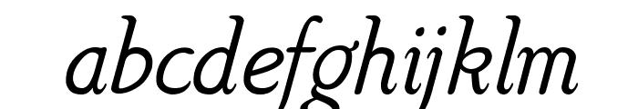 Hattha Italic Font LOWERCASE